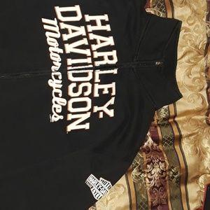 Harley Davidson zip up sweatshirt and pants
